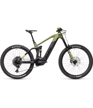 "Cube CUBE STEREO HYBRID 160 HPC SL 27.5 625 2021 18"" Medium Olive n Green (PRE ORDER - DUE March 20th)"