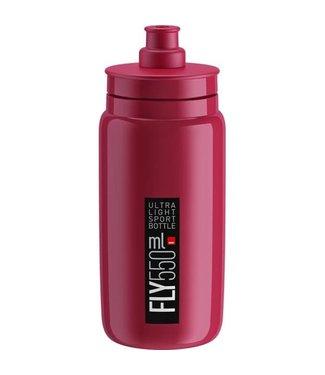 Elite SRL Elite Fly Water bottle 550ml Burgundy