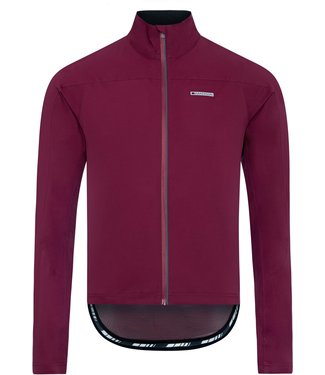 Madison Clothing RoadRace super light men's waterproof softshell jacket, classy burgundy large