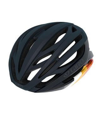 Giro Giro Syntax Road Helmet 2020: Matte Midnight Bars - S - 51-55 cm
