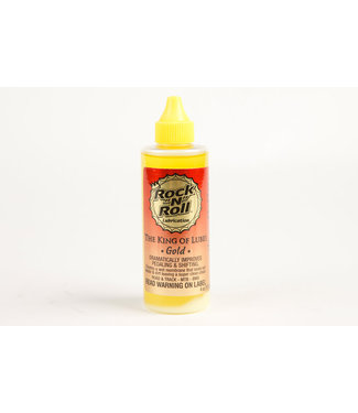 "Rock ""N"" Roll Lubrication Rock n Roll Gold Chain Lube - 4oz"