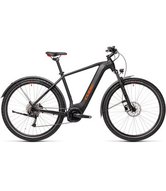 Cube Cube Nature Hybrid ONE 500 All Road 2021 - Black and Red - 54cm (M)