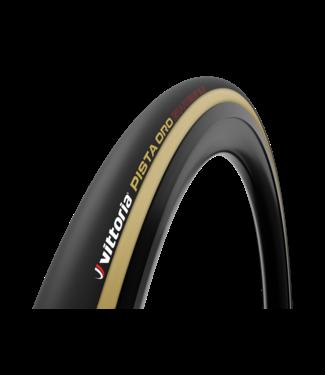 Vittoria Vittoria Pista Oro 23-28'' Black Tan G2.0 Tubular Tyre