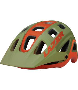 Lazer Lazer Impala Helmet, Matt Khaki/Orange - Small