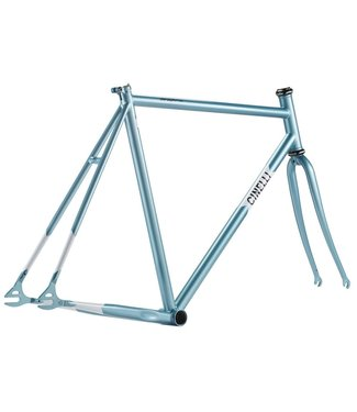Cinelli Cinelli Gazzetta Frameset Medium - Light Blue