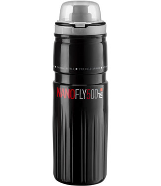 Elite Elite Nano Fly, with MTB cap, thermal 4 hour, black 500 ml