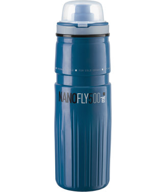 Elite Copy of Copy of Elite Nano Fly, with MTB cap, thermal 4 hour, Blue 500 ml