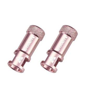 Granite-Design Granite Juicy Nipple Valve Cap & Removal Tool - Pink