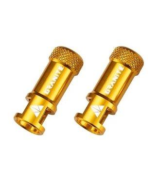 Granite-Design Granite Juicy Nipple Valve Cap & Removal Tool - Gold