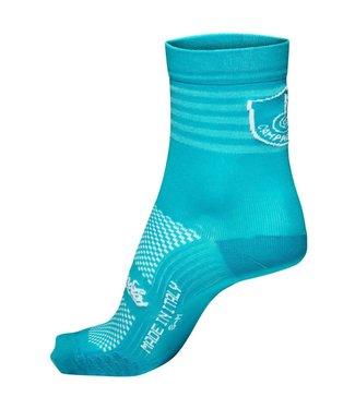 Campagnolo_Clothing Campagnolo Litech Socks Aqua Green L/XL