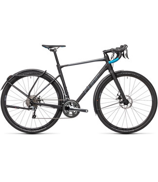 Cube Cube Nuroad Pro FE 2021 - Medium 56cm - Black and Petrol