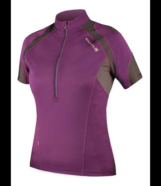 Endura Endura Wms Hummvee Jersey: Purple - L