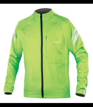 Endura Endura Windchill II Jacket: HiVizGreen - S