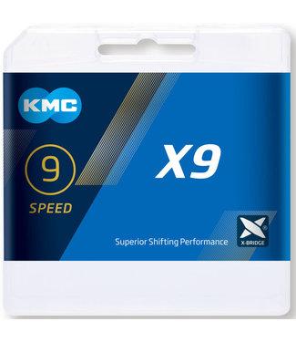 KMC KMC X9 Grey 114L Chain