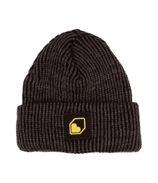Burgtec Burgtec Moonshiners Cuff Beanie - Black and Charcoal