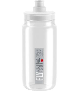 Elite SRL Elite SRL Fly Water Bottle 550ml - Clear/Gray