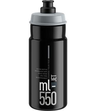 Elite SRL Elite SRL Jet Water Bottle 550ml - Black/Gray