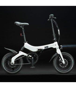 MiRider MiRider One Folding E-Bike 2021 - White and Black