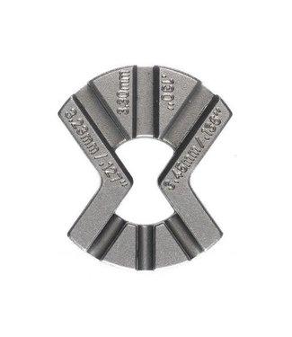CYCLO Cycle Spoke Adjuster - Triple Spoke Key: 3.23, 3.30, 3.45mm