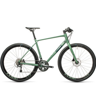 Cube Cube SL Road Pro 2021 - Extra Small (50cm) - Grey Green and Green