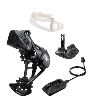 SRAM SRAM, GX1 Eagle AXS Upgrade Kit, Rear Derailleur, Battery, Controller, Charger, Gap Tool, Kit