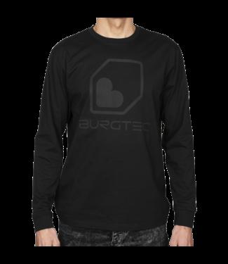 Burgtec Burgtec Black On Black Long Sleeve T-Shirt - Small
