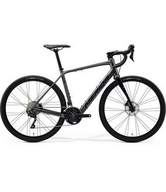 Merida Merida eSILEX+ 400 Electric Gravel Bike - Extra Small (47cm) - Gloss Dark Silver