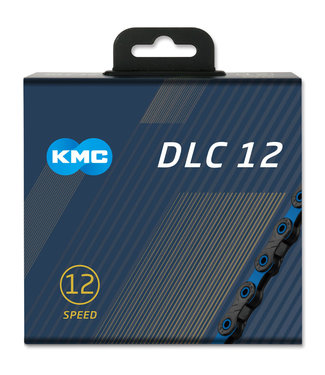 KMC KMC X12 DLC Black/Blue 126L Chain