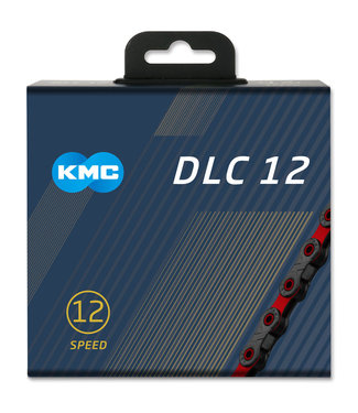 KMC KMC X12 DLC Black/Red 126L