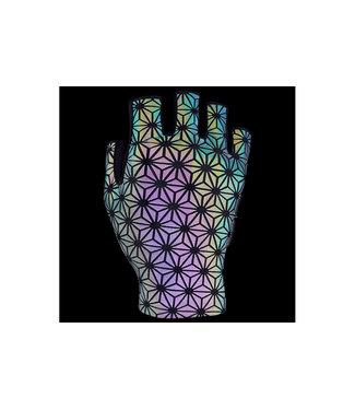 Supacaz Supacaz SupaG Short Gloves - Extra Large - Oil Slick