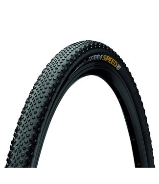 Continental CONTINENTAL TERRA SPEED PROTECTION TYRE - FOLDABLE BLACKCHILI COMPOUND: BLACK/BLACK 700 X 40C