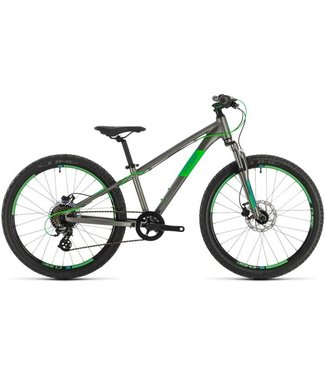 """Cube Cube Acid 240 Disc 2021 - 24"""" Wheel - Grey and Neon Green"""