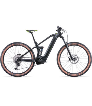 Cube CUBE STEREO HYBRID 140 HPC RACE 625 GREY/GREEN 2022 MEDIUM (PRE ORDER FOR DEC 2021 DELIVERY)