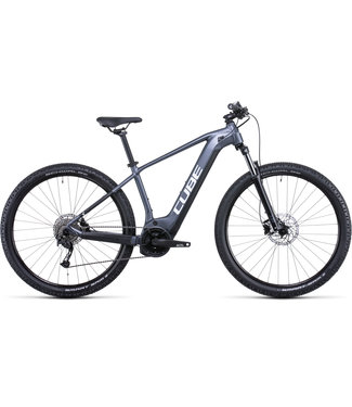 Cube CUBE REACTION HYBRID PERF 500 GREY/WHITE 2022 XL (PRE ORDER FOR OCT 2021 DELIVERY)