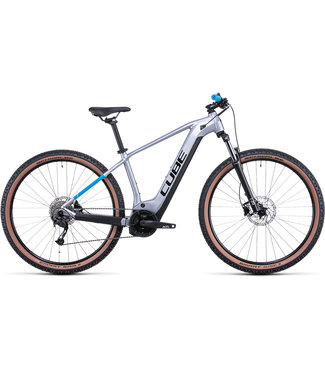 Cube CUBE REACTION HYBRID PERF 625 SILVER/BLUE 2022 XL (ONLY 1 AVAILABLE FOR PRE ORDER FOR FEB 2022 DELIVERY)