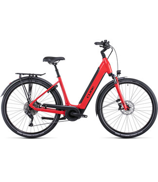 Cube CUBE SUPREME SPORT HYBRID PRO 625 RED/BLACK 2022 EE SMALL (ONLY 1 AVAILABLE FOR PRE ORDER FOR JAN 2022 DELIVERY)