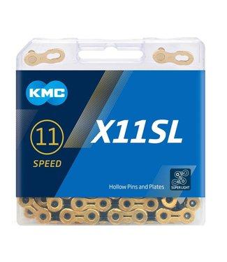 KMC X11SL Ti-N Gold/Black Chain118L