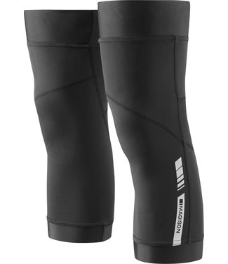 Madison Clothing Sportive Thermal knee warmers, black large