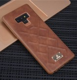 Achterkant voor Samsung Galaxy Note 9  -  Bruin (8719273285312)