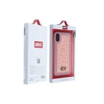 Achterkant voor Apple iPhone X-Xs  -  Roze (8719273284728)
