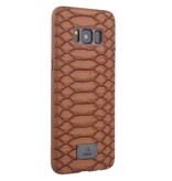 Achterkant voor Samsung Galaxy S8  -  Bruin (8719273285800)