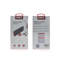 UNIQ Accessory 10000 mAh Soft Touch Powerbank - Rood (8719273256350 )