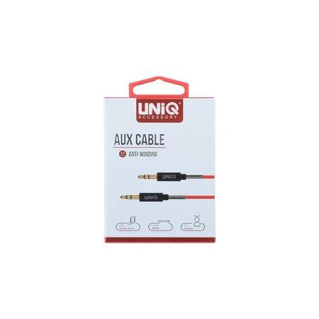 Audiokabel UNIQ Accesory Anti-Winding AUX - Rood