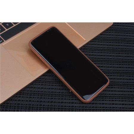 Achterkant voor Samsung Galaxy S8  -  Bruin (8719273285190)
