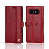 Pierre Cardin Booktype voor Samsung Galaxy Note 8  - Rood (8719273140949)