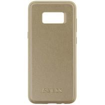 Guess Achterkant voor Samsung Galaxy S8 Plus  -  Goud (3700740400197)