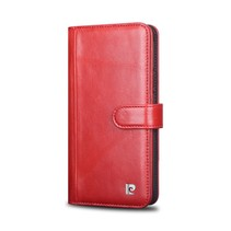 Pierre Cardin Booktype voor Samsung Galaxy S8 Plus  - Rood (8719273144565)