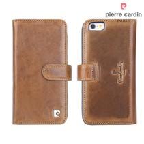 Pierre Cardin Booktype voor Apple iPhone 6  - Bruin (8719273215425)