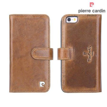 Pierre Cardin Pierre Cardin Booktype voor Apple iPhone 6  - Bruin (8719273215425)