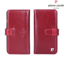 Pierre Cardin Booktype voor Apple iPhone 7-8 Plus  - Rood (8719273206133)